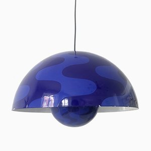 Large Flower Pot Pendant Lamp by Verner Panton for Louis Poulsen, 1970s