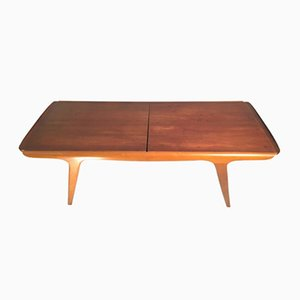 Swedish Teak Table with Extensions, 1960s