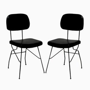 Chairs par Gastone Rinaldi pour Rima, Italie, 1950s, Set de 2