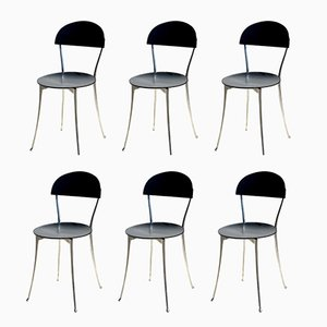 Italian Chairs by Enzo Mari for Zanotta, 1985, Set of 6