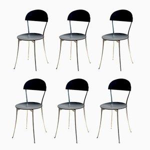 Italienische Stühle von Enzo Mari für Zanotta, 1985, 6er Set