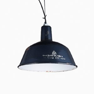 Industrial Pendant Light from EKA, 1970s