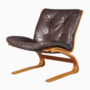 Kengu Lounge Chair by Elsa & Nordahl Solheim for Rybo Rykken Furniture Co., 1976