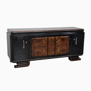 Large Burl Sideboard, 1920s