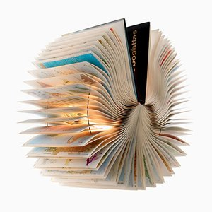 Atlas Book Lamp by Michael Bom for Bomdesign