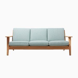 Model GE 290 3-Seater Sofa by Hans J. Wegner for Getama, 1950s
