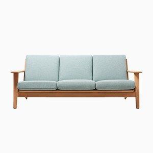 Modell GE 290 3-Sitzer Sofa von Hans J. Wegner für Getama, 1950er