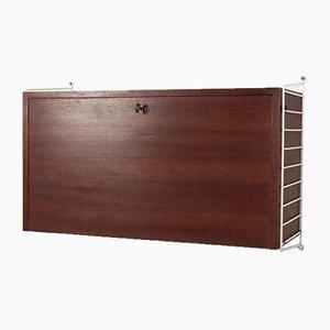 Mueble modular de pared sueco de Kajsa & Nils Strinning para String, años 60