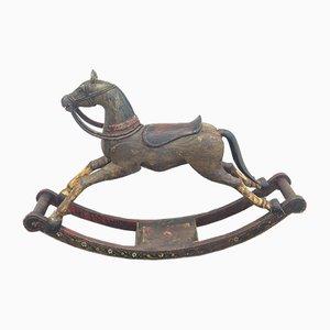 Vintage Indian Rocking Horse