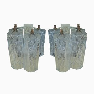 Wall Sconces by Ercole Barovier for Barovier & Toso, 1960s, Set of 2