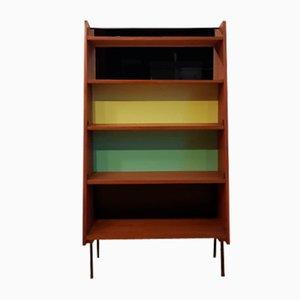 Teak Bookcase by Jacques Hitier, 1950s