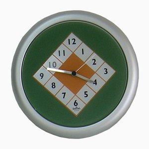 Reloj de pared vintage de Marco Zanini para Rosenthal