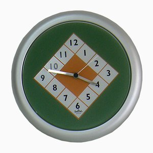 Vintage Wall Clock by Marco Zanini for Rosenthal