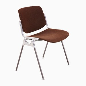 Vintage DSC 106 Side Chair by Giancarlo Piretti for Castelli