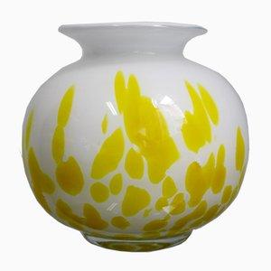 Vaso Mid-Century in vetro di Murano