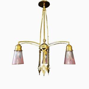Lampada da soffitto Art Nouveau, inizio XX secolo