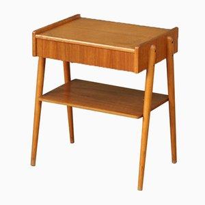 Dänische Mid-Century Teak Nachttisch