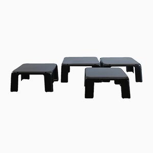 Tables Basses Modèle 4 Gatti par M. Bellini pour B&B, 1970s, Set de 4