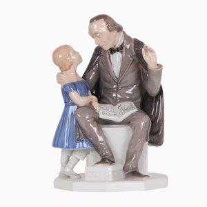 Figurina vintage rappresentante Andersen di Henning Seidelin per Bing & Grøndahl