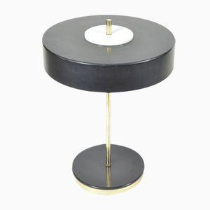 Lampada da tavolo in metallo ed ottone di Kamenický Šenov, anni '70