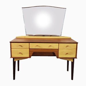 Dressing Table with Mirror by Alfred Cox, 1950s
