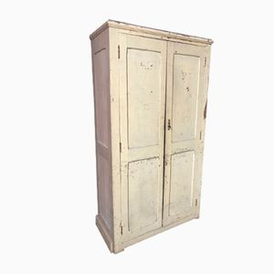 Antique French Cream Armoire