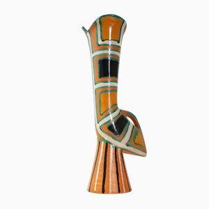 Vase Zoomorphe en Céramique par Gabriel Fourmaintraux, France, 1950s