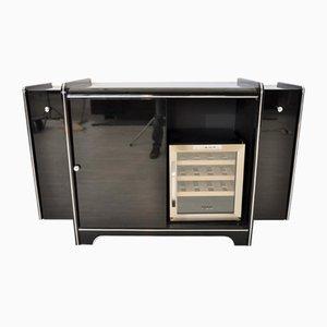 Vintage Art Deco Sideboard mit Weinkühler