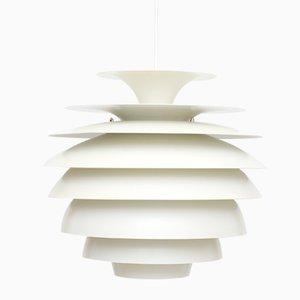 Lampe à Suspension Barcelona Vintage par Bent Karlby pour Lyfa, 1960s