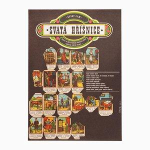 Holy Sinner Filmposter von Karel Vaca, 1970