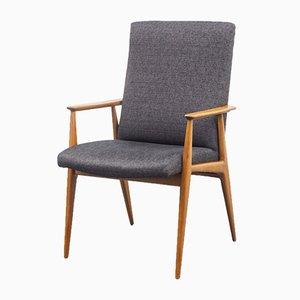 Mid-Century Walnut Armchair, 1960s