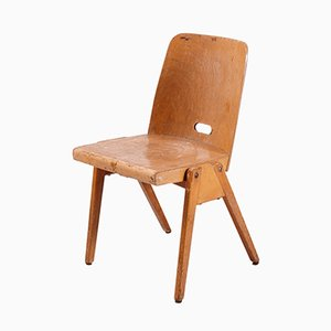Vintage Plywood Chair by Franz Schuster for Wiesner-Hager, 1960s