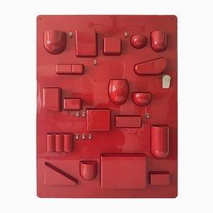 Organizador de pared Uten.Silo I grande de Dorothee Becker para Design M, años 70