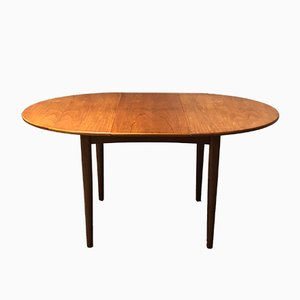 Table de Salle à Manger Rond Mid-Century en Teck par Ib Kofod-Larsen pour G-Plan, 1960s