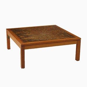 Mesa de centro danesa vintage de Rolf Middelboe & Gorm Lindum para Tranekaer Furniture