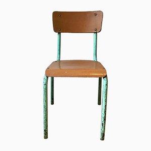Chaise de Bureau Vintage en Métal & Bois, France