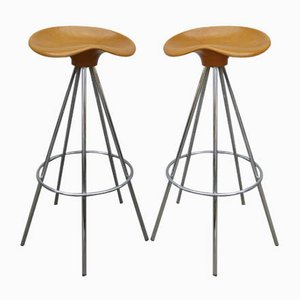 Jamaica Bar Stools by Pepe Cortés for Knoll Inc., 1980s, Set of 2
