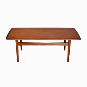Mid-Century Danish Teak Coffee Table, 1960s