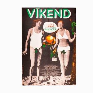 A Weekend Without Parents Filmposter von Karel Vaca, 1981