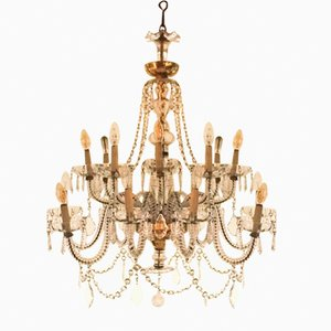 Vintage Murano Crystal Chandelier