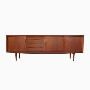 Mid-Century Credenza by Axel Christensen for Omann Jun, 1960s