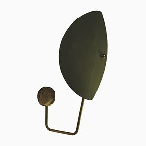Apliques en verde menta, años 50. Juego de 2