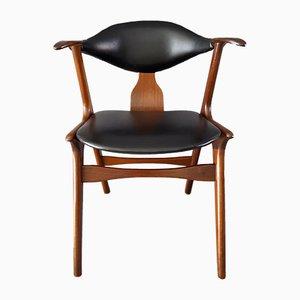 Cow Horn Chair von Louis van Teeffelen für WéBé, 1960er