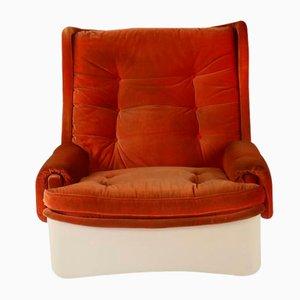 Großer Sessel aus Glasfaser Michel Cadestin für Airborne, 1960er