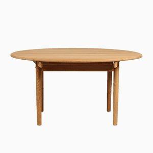 Runder Modell PP 70 Tisch von Hans J. Wegner für PP Møbler, 1980er