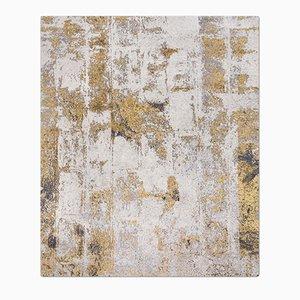 Tappeto Brick nr. 5 Silver Rust di Knots Rugs