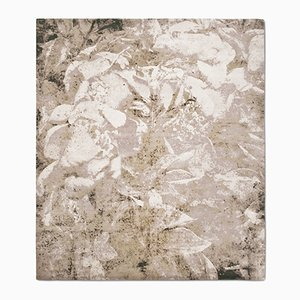Country Garden Rug in Natural Green from Knots Rugs