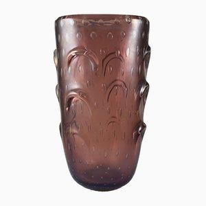 Vaso grande di Archimede Seguso per Seguso, anni '50