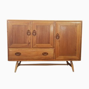 No. 2 Elm Sideboard with Beech Legs by Lucian Ercolani for Ercol, 1960s