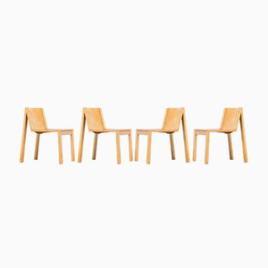 Vintage SE15 Chairs by Pierre Mazairac & Charles Boonzaaijer for Pastoe, 1976, Set of 4